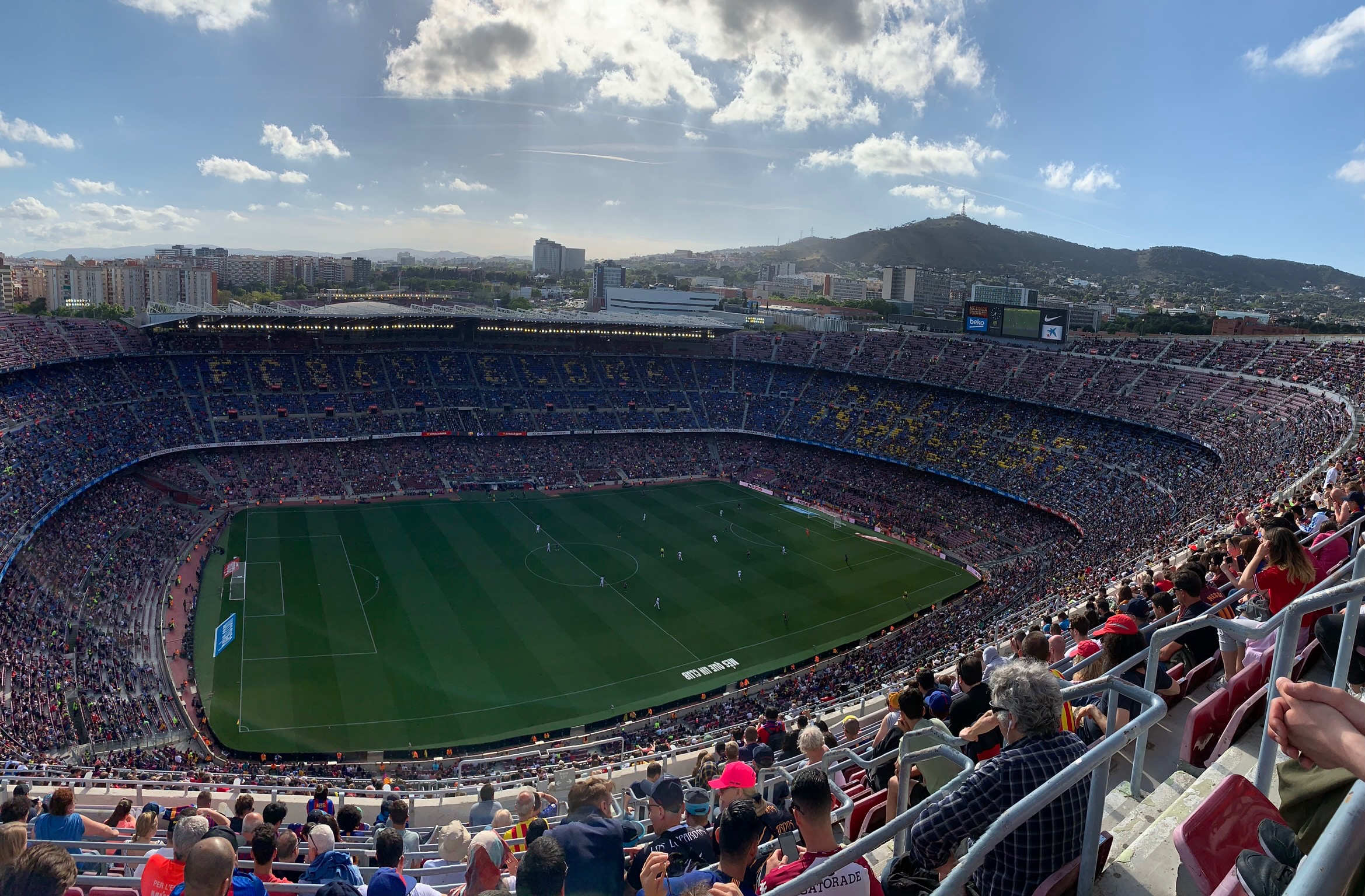 Camp Nou - FC Barcelona vs. Getafe CF